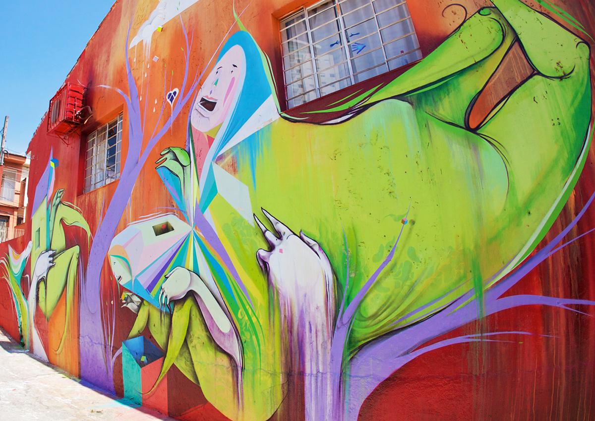 Mural - Beco do Aprendiz Vila Madalena | São Paulo - Brasil | 2010