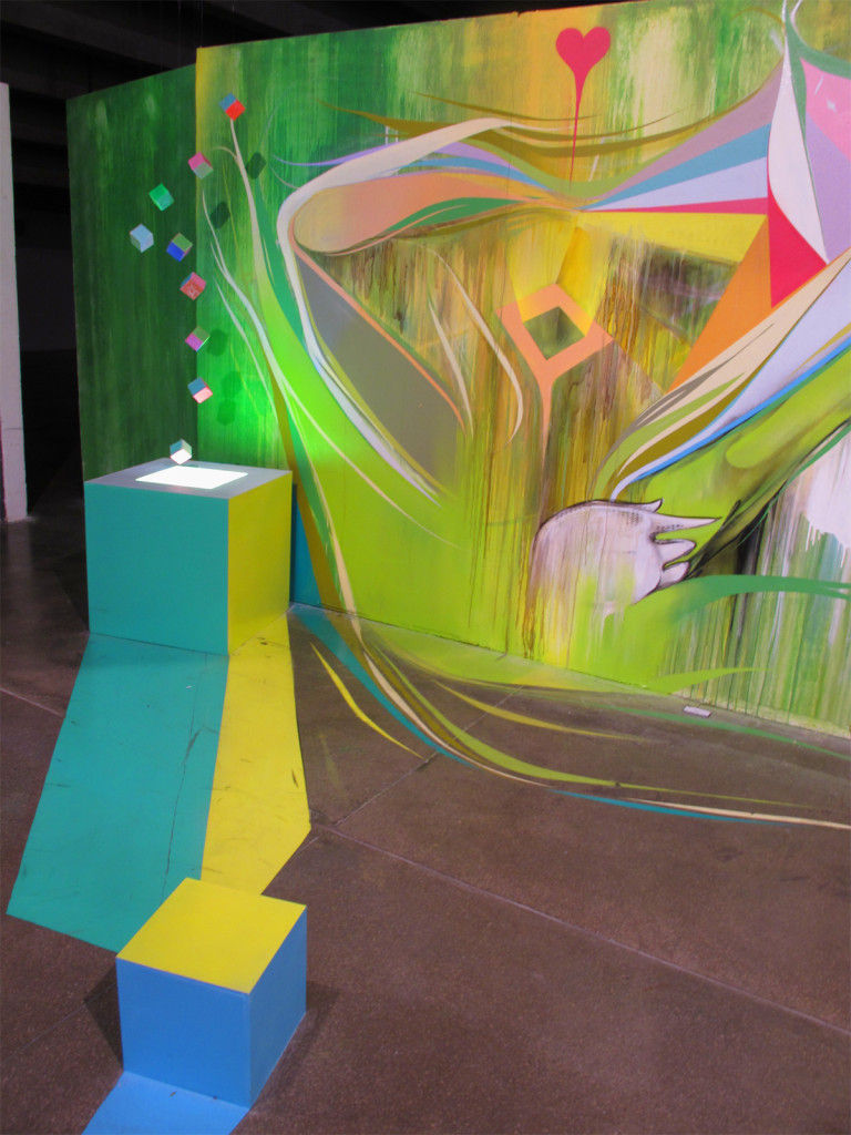 Brazilian Museum of Sculpture - 1º Biennial Interntional of Graffiti Fine Art - 2010